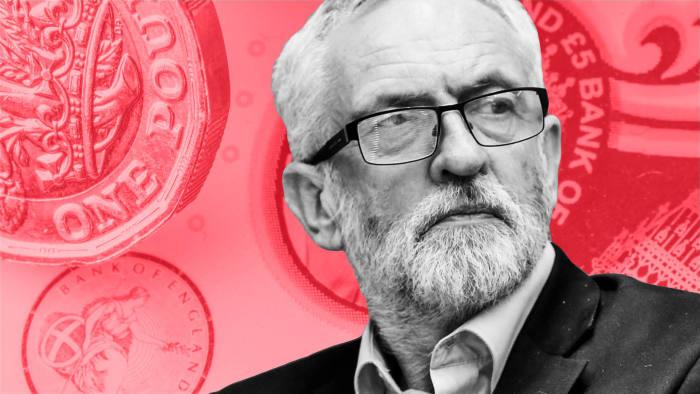 Jeremy Corbyn Uk Labour Secretary 2019.