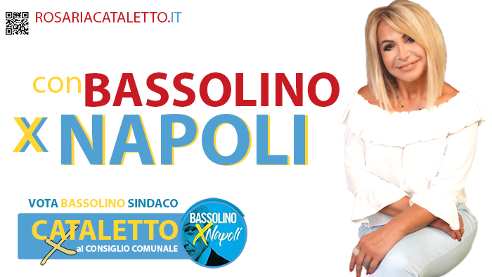 Cataletto con Bassolino per Napoli